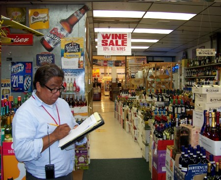 Rafael liquor store inspection