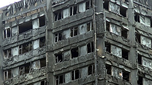 The danger of combustible exteriors on tall buildings