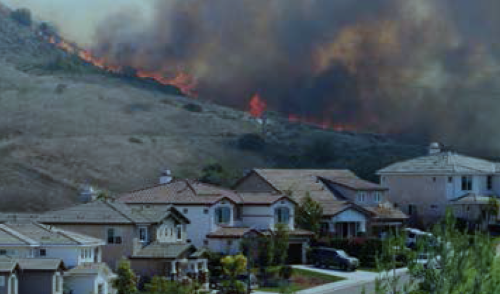 Drought projections show increased risk of wildfires