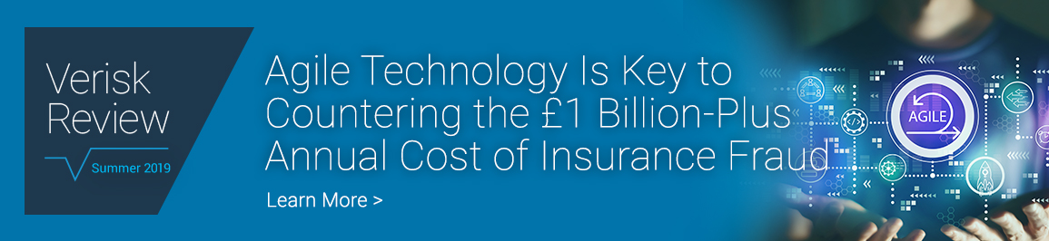 Agile Technology Is Key to Countering the £1 Billion-Plus Annual Cost of Insurance Fraud