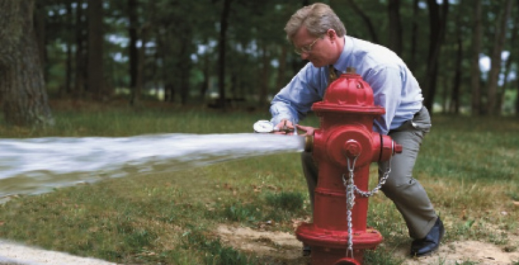 The critical function of water in fighting fire risk | Visualize