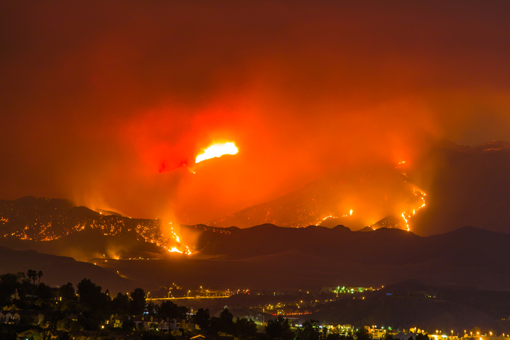 Visualize Apple Wildfire