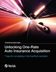 Unlocking One Rate Auto Insurance Acquisition