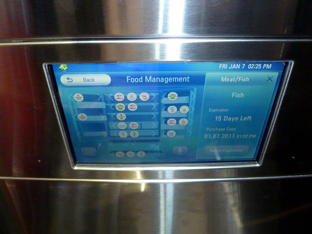 Large smart refrigerator offers connected home data