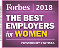 Forbes America's Best Employers for Women