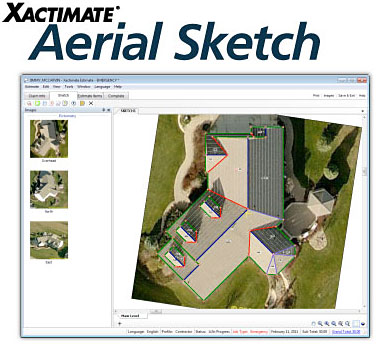 Xactware Releases Aerial Sketch for Xactimate | Verisk Analytics