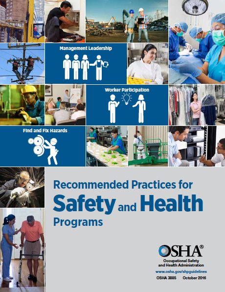 The Occupational Safety and Health Administration's guide provides straightforward methods for insureds to establish safety and health programs.